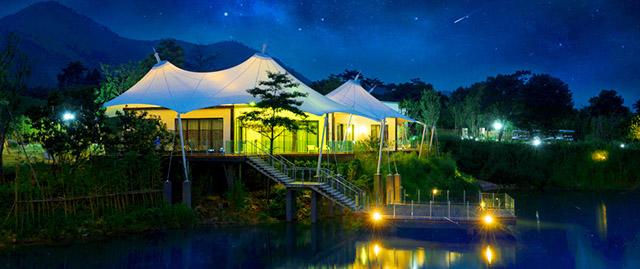 帐篷客溪龙茶谷度假酒店