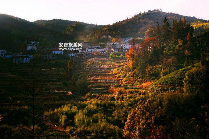 安吉山川农家乐风景
