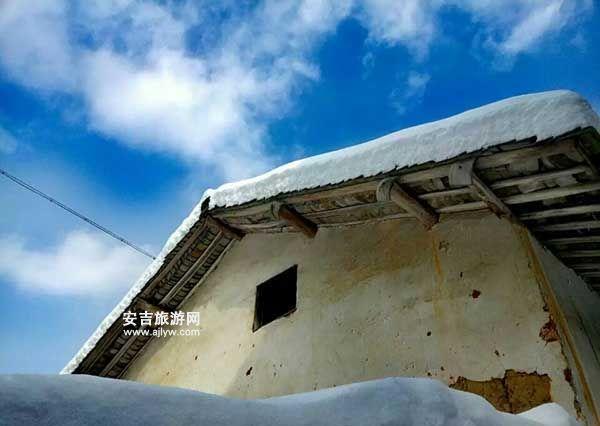 龙王山农家乐雪景