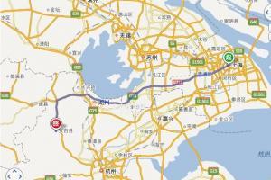 上海到安吉附近农家乐