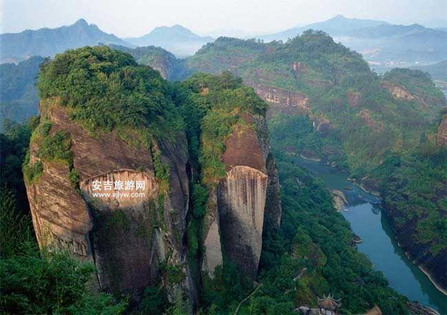 浙北大峡谷风景