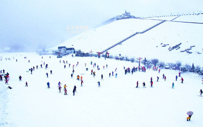 冬天安吉旅游