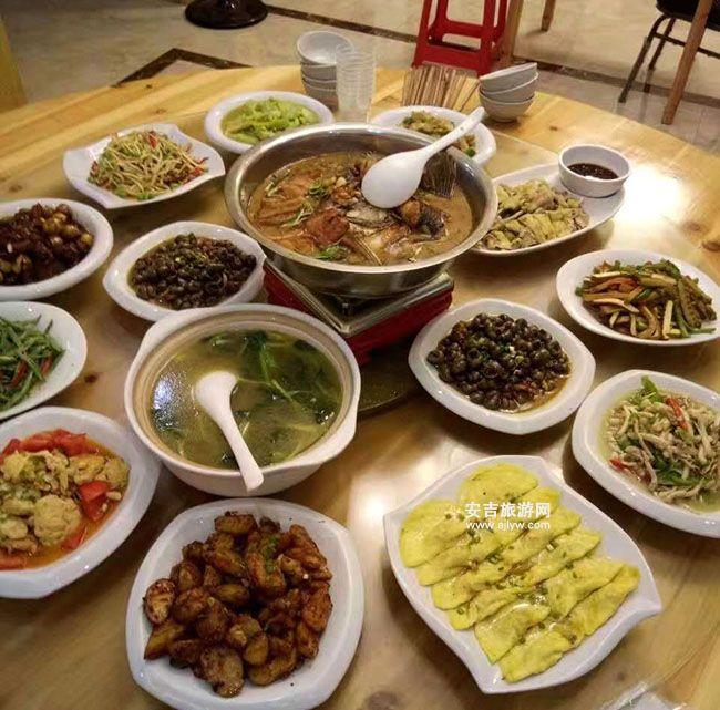 石岭农家乐菜